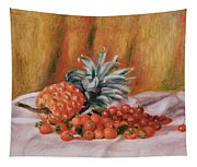 Strawberries And Pineapple Tapestry