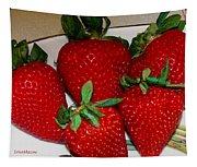 Strawberries Tapestry