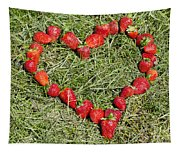 Strawberry Heart Tapestry