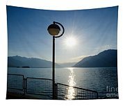 Street Lamp And Water Tapestry