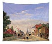 Street Scene Tapestry