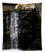 Strength At Rest Tapestry