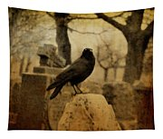 Study Of The Surly Raven Tapestry