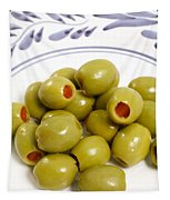 Stuffed Green Olives Tapestry