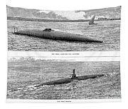 Submarine Launch, 1890 Tapestry