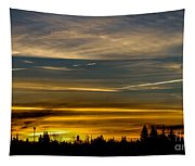 Suburban Sunrise Tapestry