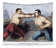 Sullivan & Kilrain Fight Tapestry