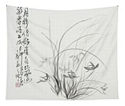 Sumi-e One Tapestry