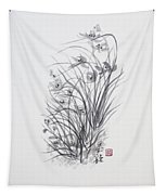 Sumi-e Two Tapestry