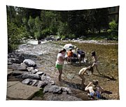 Summer Fun In Vail Tapestry