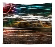Summer Harvest Storm Tapestry
