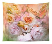 Summer Roses Tapestry