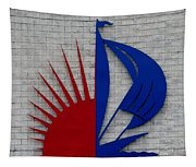 Sun And Sails Tapestry