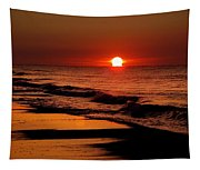 Sun Emerging From The Water Tapestry