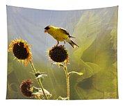 Sunny Finch Tapestry