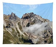 Sunny Mountain Afternoon Tapestry