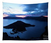 Sunrise At The Crater Tapestry