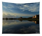 Sunrise At The Outer Banks Tapestry