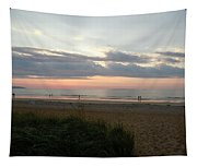 Sunrise Colors Of Maine Tapestry