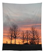 Sunrise On The Hill Tapestry