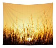 Sunrise Over Nachusa Grasslands Tapestry