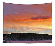 Sunrise Over Teslin Lake, Yukon Tapestry