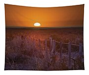 Sunrise Over The Pampa Of Argentina San Tapestry