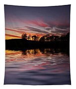 Sunset Reflection Tapestry
