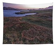 Sunrise View Of Clogher Beach Tapestry