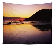 Sunset And Sea Tapestry