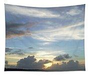 Sunset In Majuro Tapestry