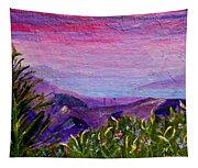 Sunset Lake Tapestry