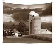 Sunset On The Farm S Tapestry