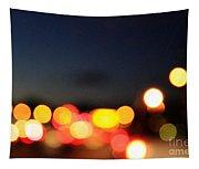 Sunset On The Golden Gate Bridge Tapestry