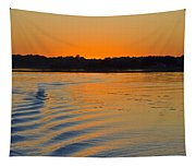 Sunset On The Sound Tapestry
