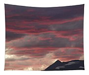 Sunset Over The Colorado Rocky Mountain Continental Divide Tapestry