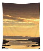Sunset Over Water, Argyll And Bute Tapestry