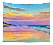 Sunset South Of Todos Santos Tapestry