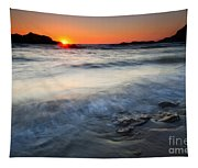 Sunset Uncovered Tapestry