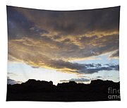 Sunset Valley Of Fire Tapestry