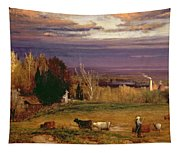 Sunshine After Storm Or Sunset Tapestry