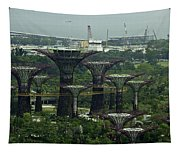 Supertrees At The Gardens By The Bay In Singapore Tapestry