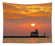 Supraliminal Sunrise Tapestry