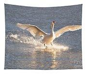Swan Landing Tapestry