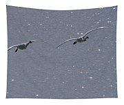 Swans Coming In For A Landing, Tagish Tapestry