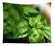 Sweet Basil From The Garden Tapestry