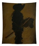 Sweet Little Rider Tapestry