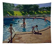 Swimming Pool Tapestry