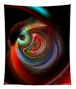 Swirl Of Colors Tapestry