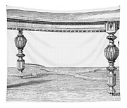 Table, 19th Century Tapestry